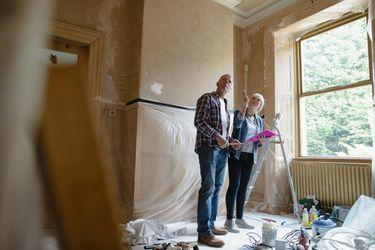 Couple uses money from a refinance to remodel their home